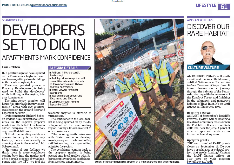 Redcliffe News